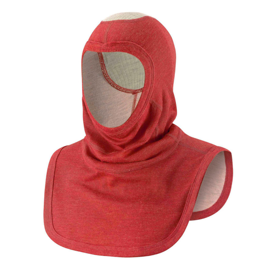senfa saflex hood red firefighter
