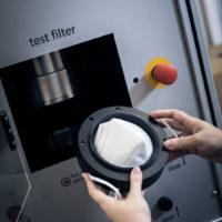 senfa breathibility mask test Filtration efficiency EN 149