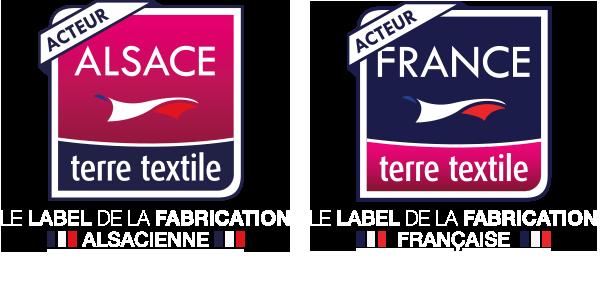 Alsace terre textile , France terre textile label