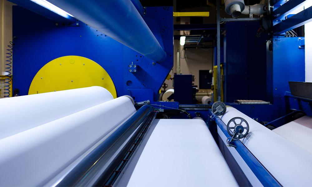 senfa coating line, fishing process, substrates