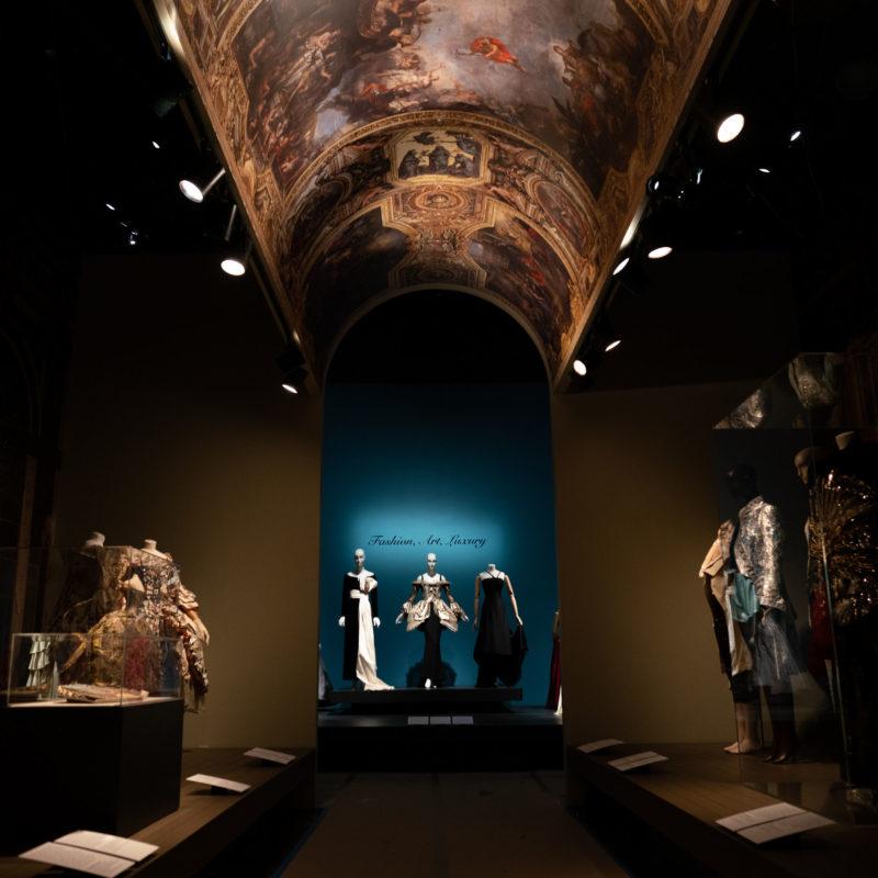 senfa museum application decoration technical textile